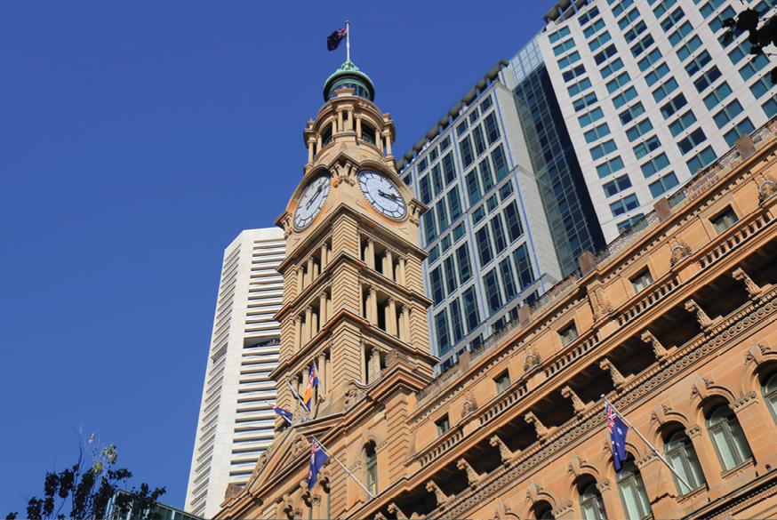 悉尼马丁广场